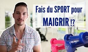 Est-on obligé de faire du sport pour maigrir?